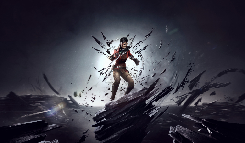 1024x600 wallpaper Dishonored: Death Of The Outsider, 2017 game, video game
