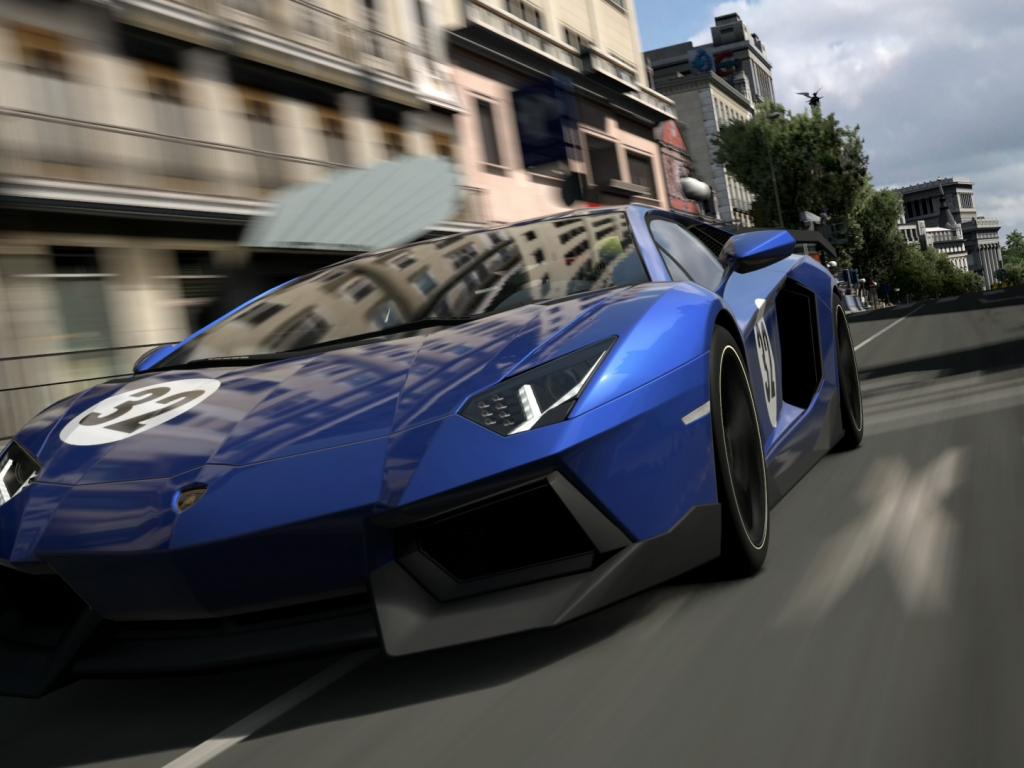 Gran Turismo 6, Lamborghini Aventador, Video Game Wallpaper, 1920x1080, Hd  Image, Picture, 6edc43