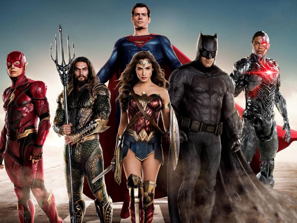 Justice League Dc Comics Superheroes Wallpapers: Desktop Wallpaper Justice League, Dc Comics, Movie, Cast