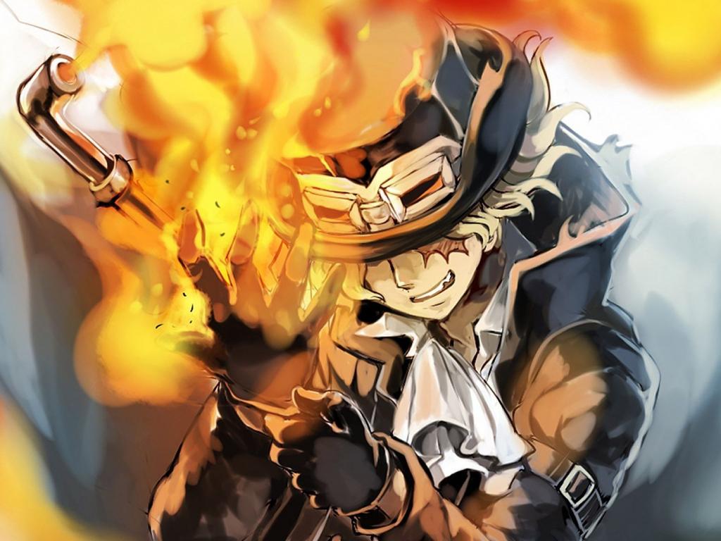 Desktop Wallpaper Sabo, Anime, One Piece, Hd Image