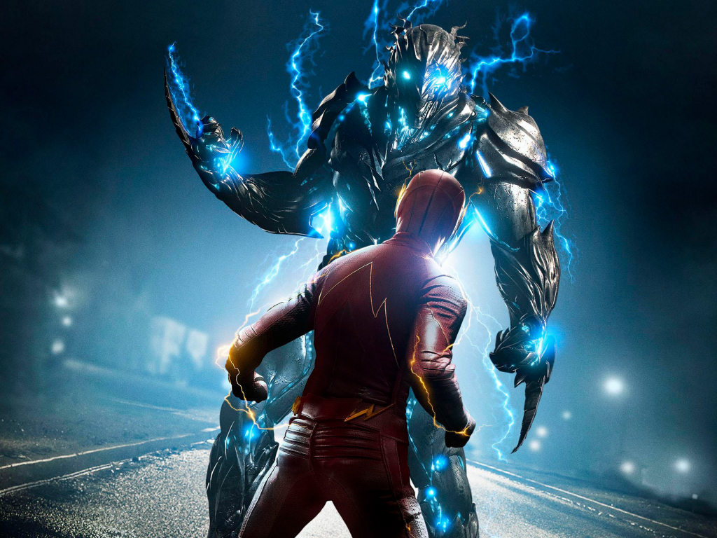 Best Ipad Games >> Desktop Wallpaper The Once And Future Flash, The Flash, Tv Show, Savitar, 2017, Hd Image ...