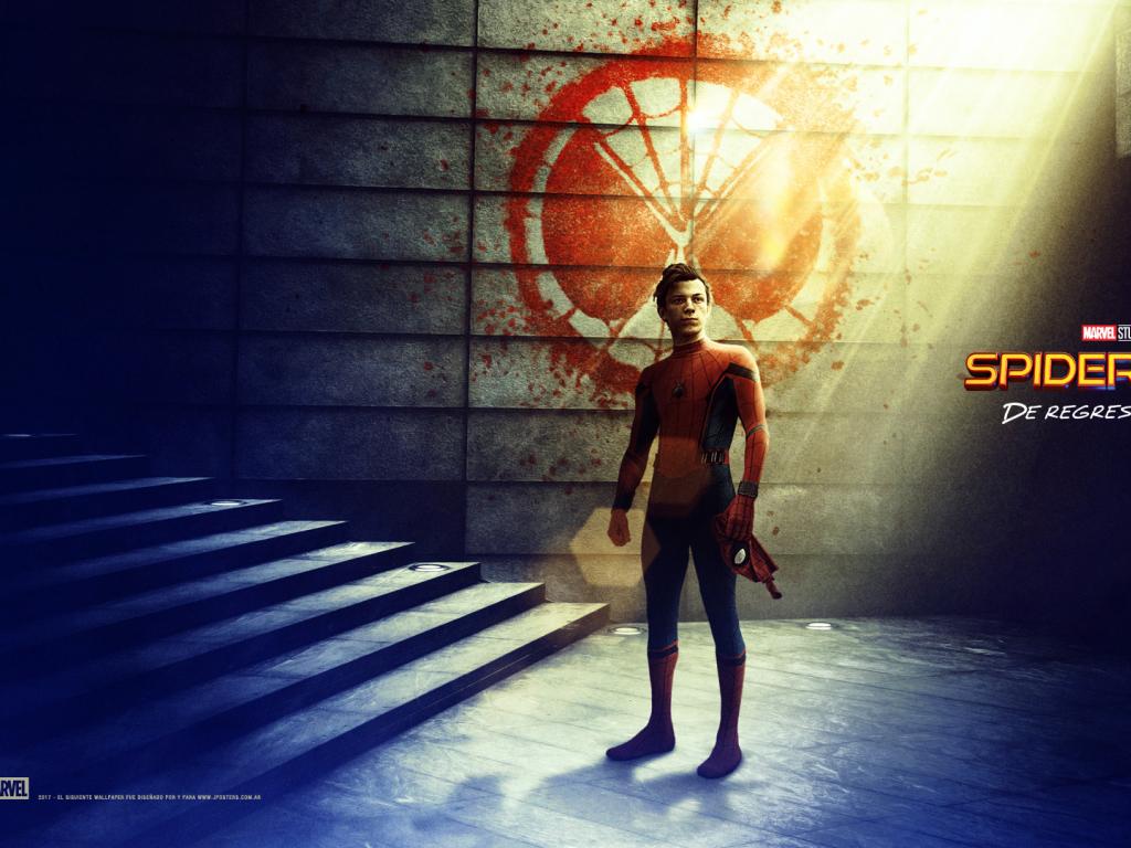 Desktop Wallpaper Spider Man, Spider Man: Homecoming, Tom ...