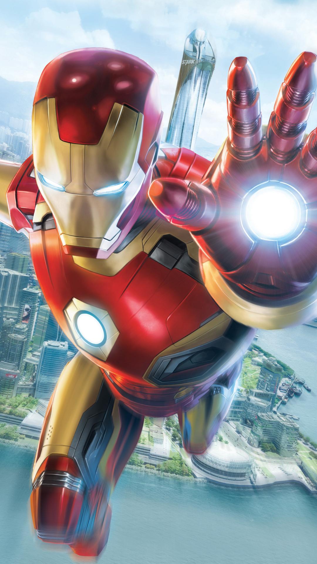 Download 1080x1920 Wallpaper Iron Man Experience Hong Kong