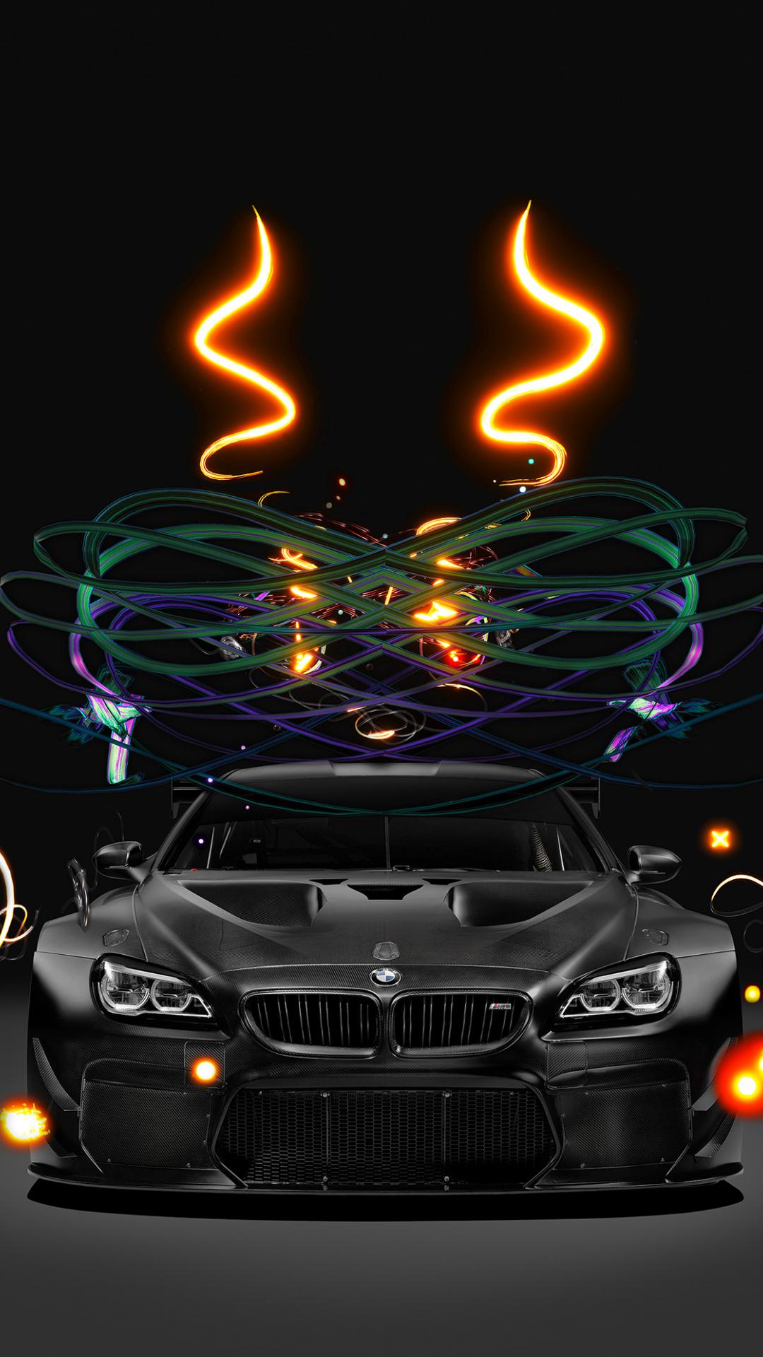 Download 1080x1920 Wallpaper Bmw M6 Gt3 Bmw Art Car 4k Samsung