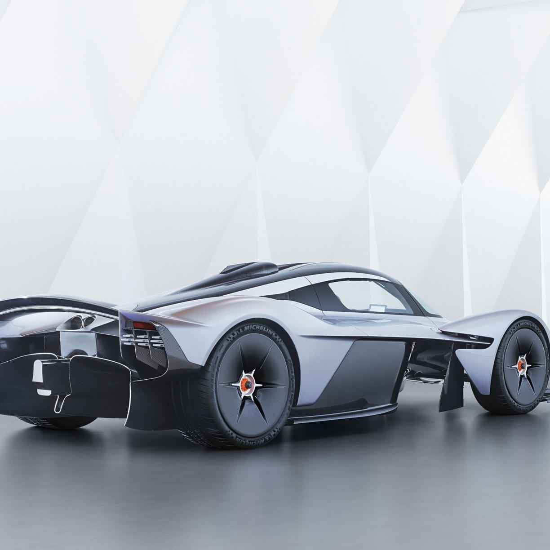 Aston Martin Valkyrie Wallpaper: Desktop Wallpaper Sports Car, White, Aston Martin Valkyrie