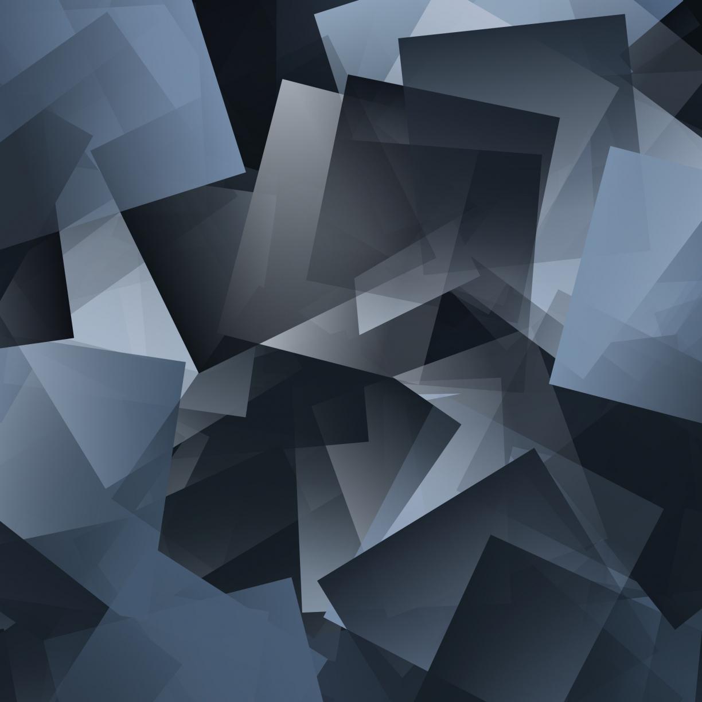 Desktop Wallpaper Gray Mosaic, Gradient, Pattern, Abstract