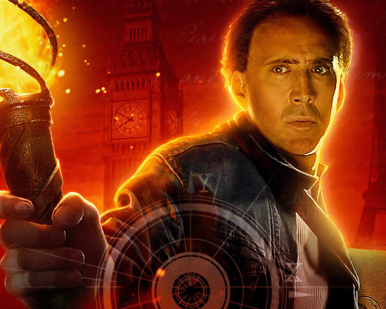 Desktop Wallpaper National Treasure Book Of Secrets 2007 Movie Nicolas Cage Hd Image Picture Background 63 Nfd