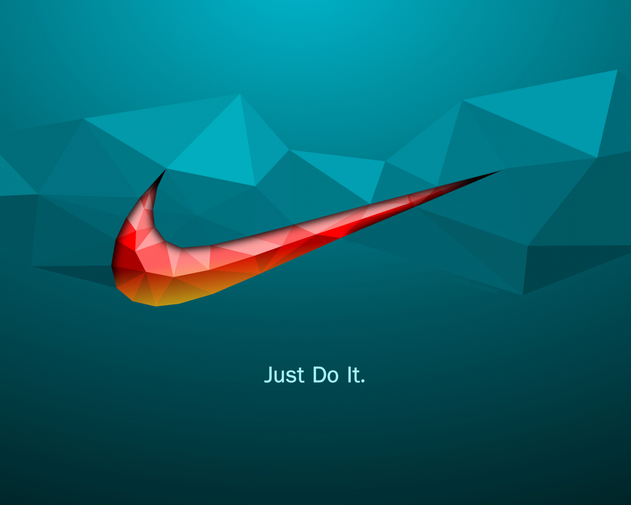 1280x1024 wallpaper Just do it, quotes, Nike, logo, abstract