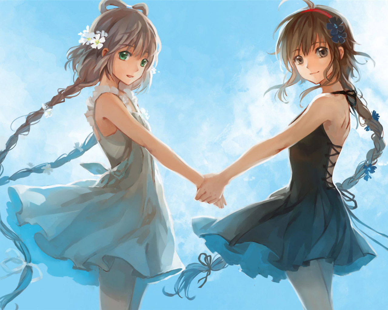 Desktop Wallpaper Luo Tianyi Yuezheng Ling Vocaloid Anime Girl Pony Tails Hd Image Picture Background C88c11