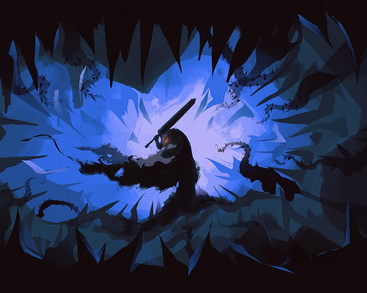 Desktop Wallpaper Guts Of Berserk Anime Wallpaper Hd Image Picture Background Kuld7s