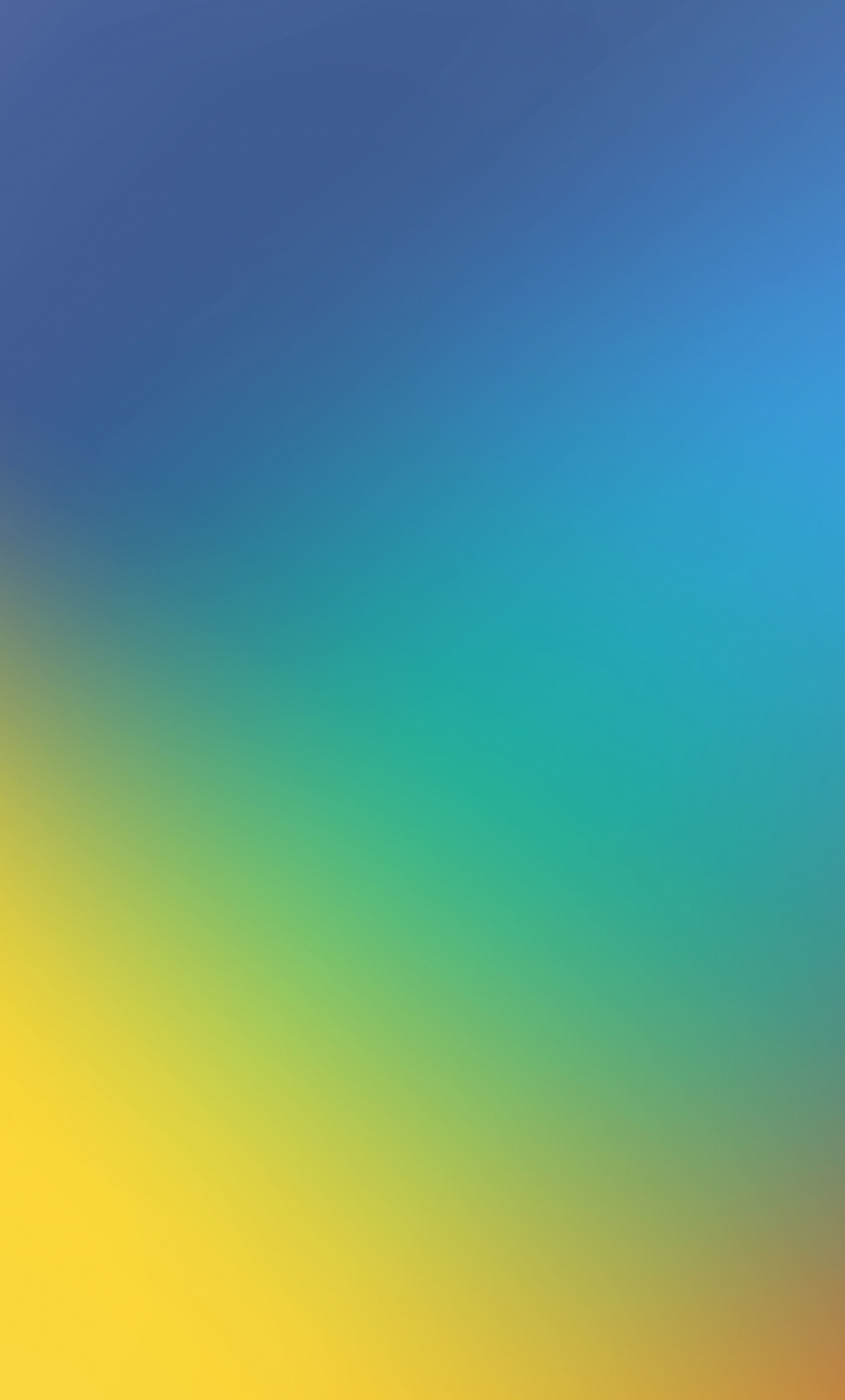 Download 1280x2120 Wallpaper Gradient Blue Yellow Abstract