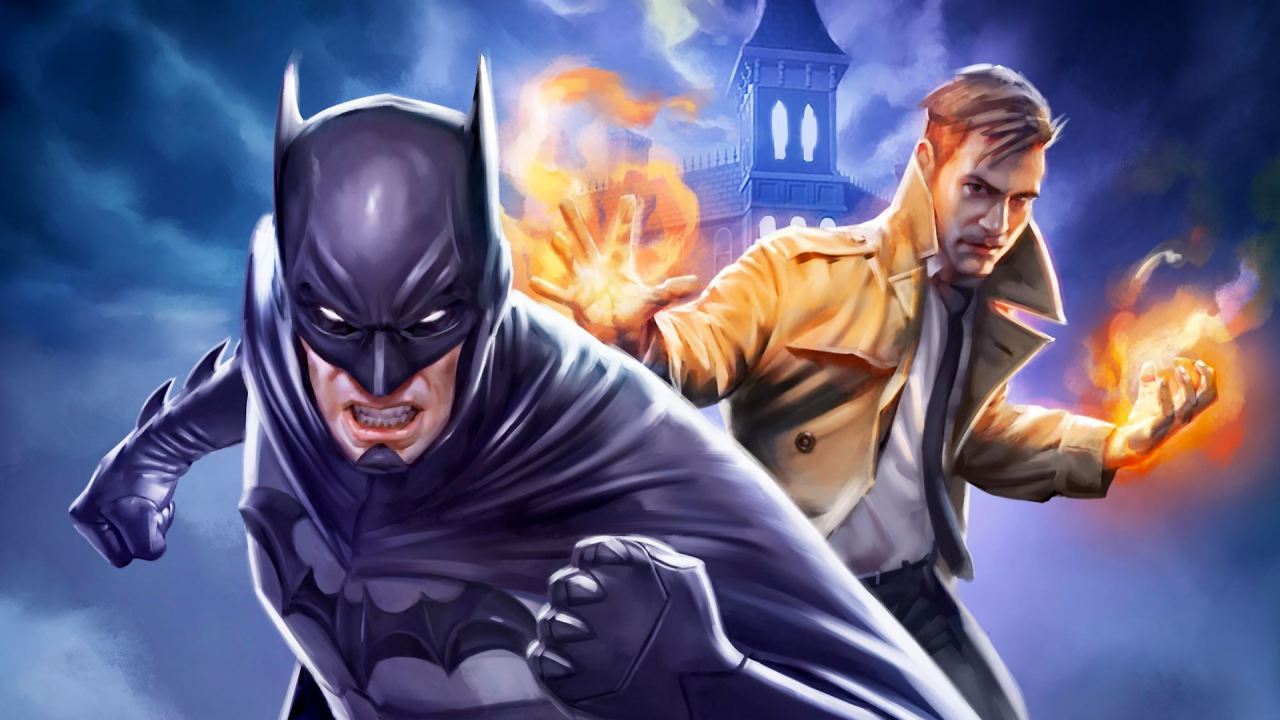 Download 1280x720 Wallpaper Justice League Dark Animated
