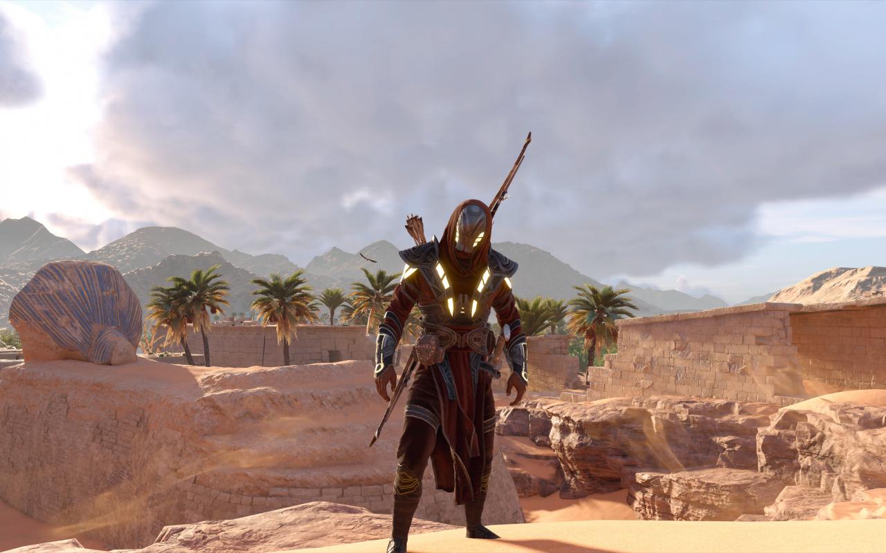 Desktop Wallpaper Assassin S Creed Origins Desert Video Game 4k Hd Image Picture Background 361145