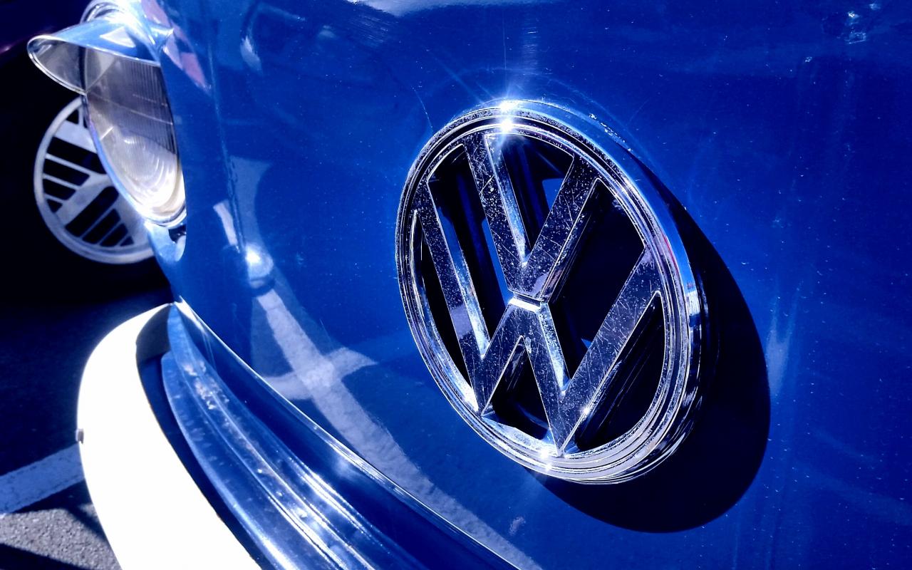 Download 1280x800 Wallpaper Vw Volkswagen Van Logo Full Hd Hdtv