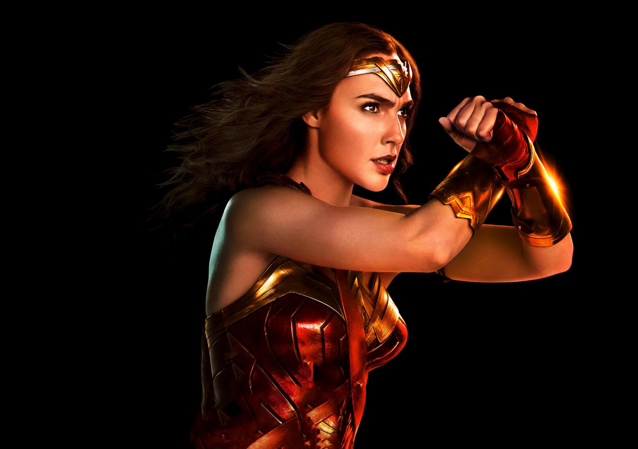 1280x900 wallpaper Wonder woman, portrait, justice league, 2017 movie, 4k