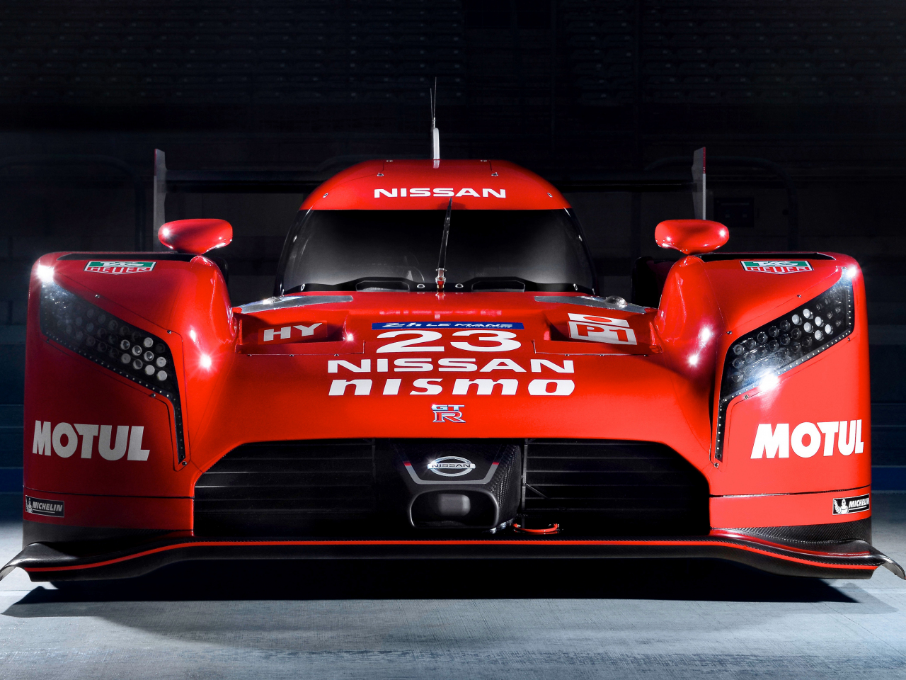 1280x960 wallpaper Nissan GT-R LM Nismo prototype racing car