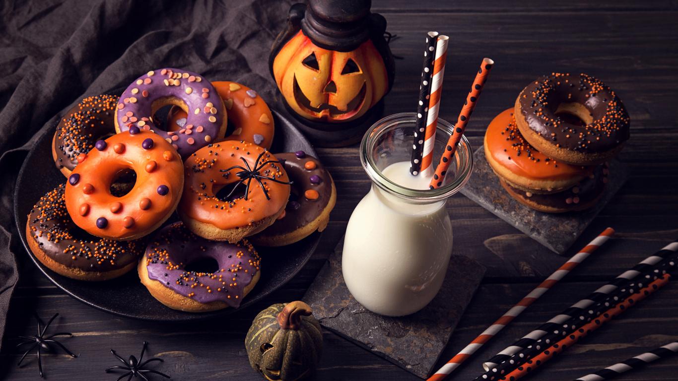 Cool Wallpaper Halloween Tablet - Halloween-food-cookies-doghnuts  Picture_392247.jpg