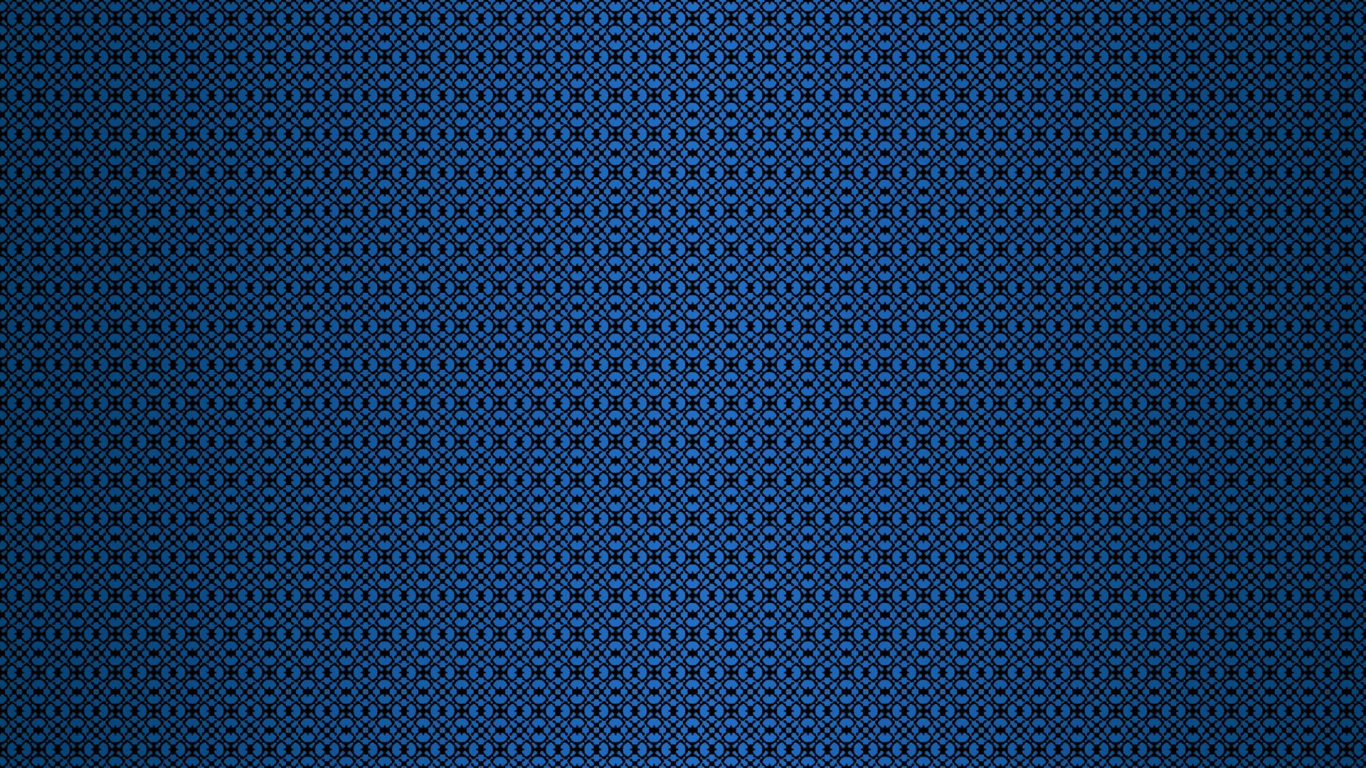 Download 1366x768 Wallpaper Abstract Blue Pattern Tablet