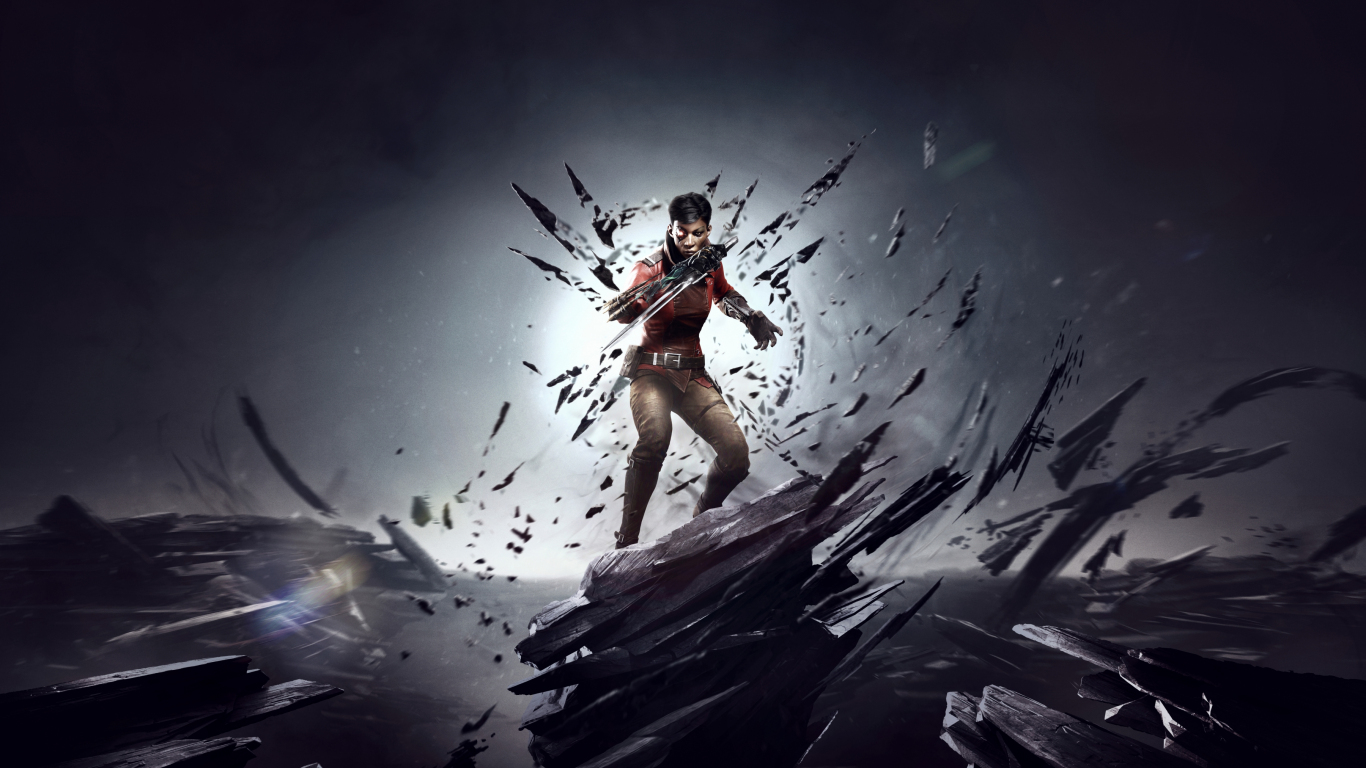 1366x768 wallpaper Dishonored: Death Of The Outsider, 2017 game, video game