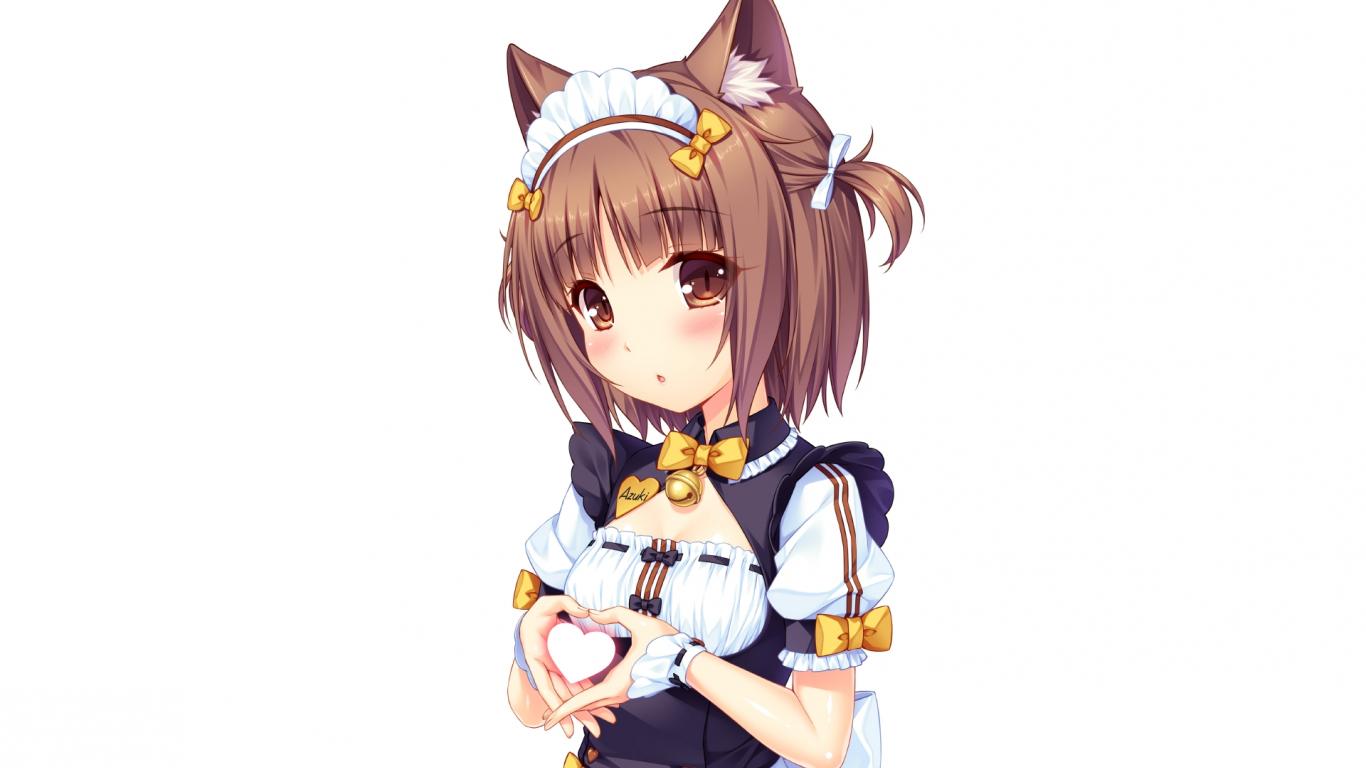 Desktop Wallpaper Nekopara Anime Girl Hd Image Picture Background V8swsa