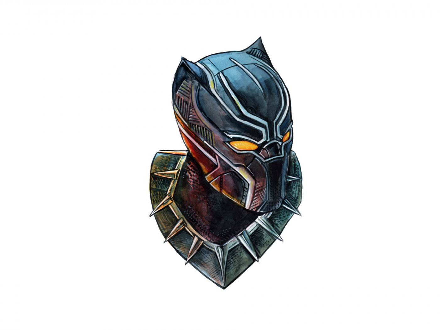 Must see Wallpaper Marvel Face - Black-Panther-marvel-comics-face-art  Pictures_123128.jpg