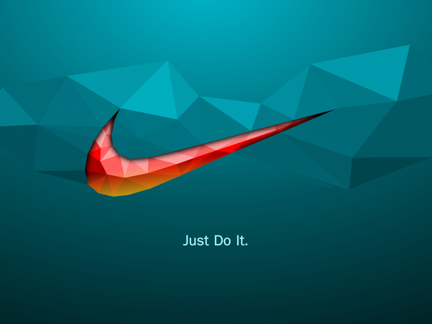 1400x1050 wallpaper Just do it, quotes, Nike, logo, abstract