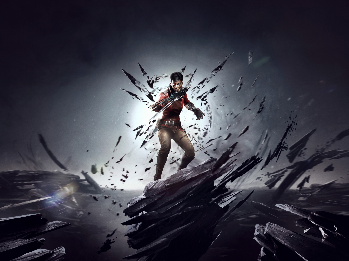 1400x1050 wallpaper Dishonored: Death Of The Outsider, 2017 game, video game