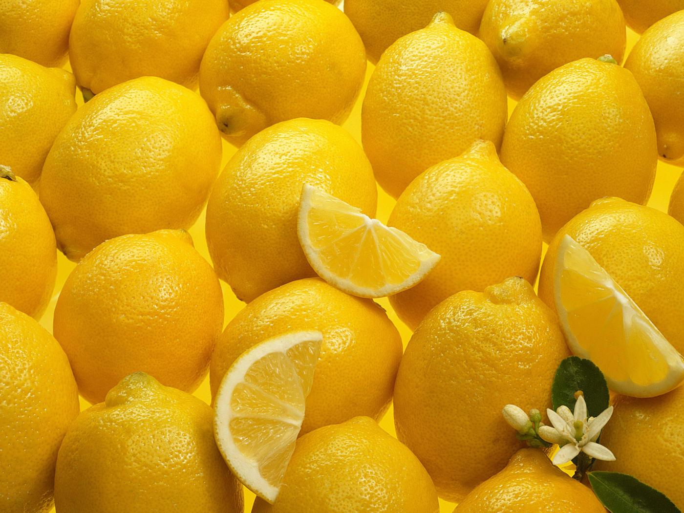 Desktop Wallpaper Lemon Fruits, Slices, Hd Image, Picture ...