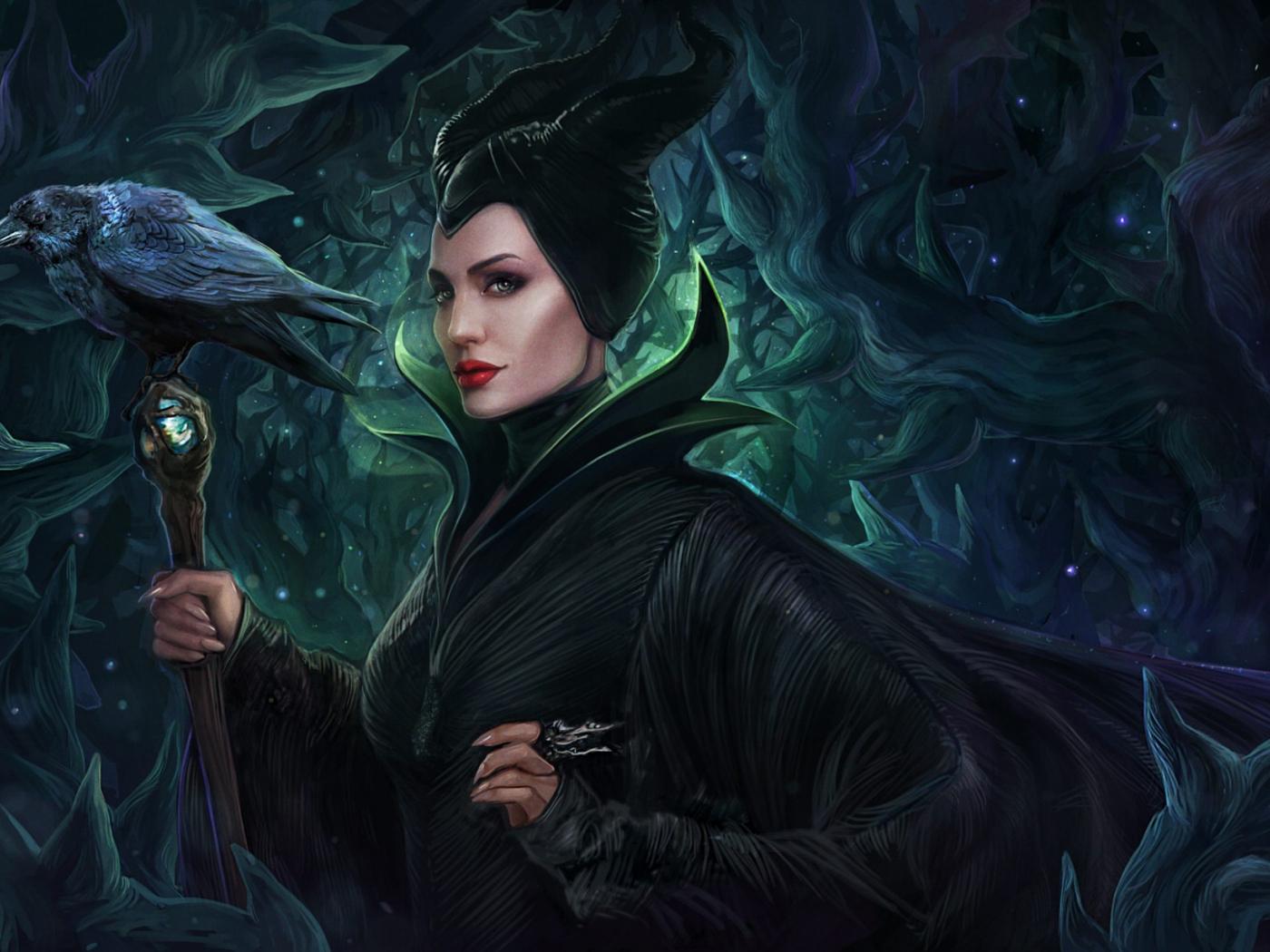 Download 1400x1050 Wallpaper Disney S Maleficent Evil Movie