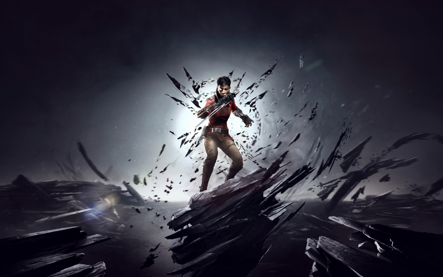 1440x900 wallpaper Dishonored: Death Of The Outsider, 2017 game, video game
