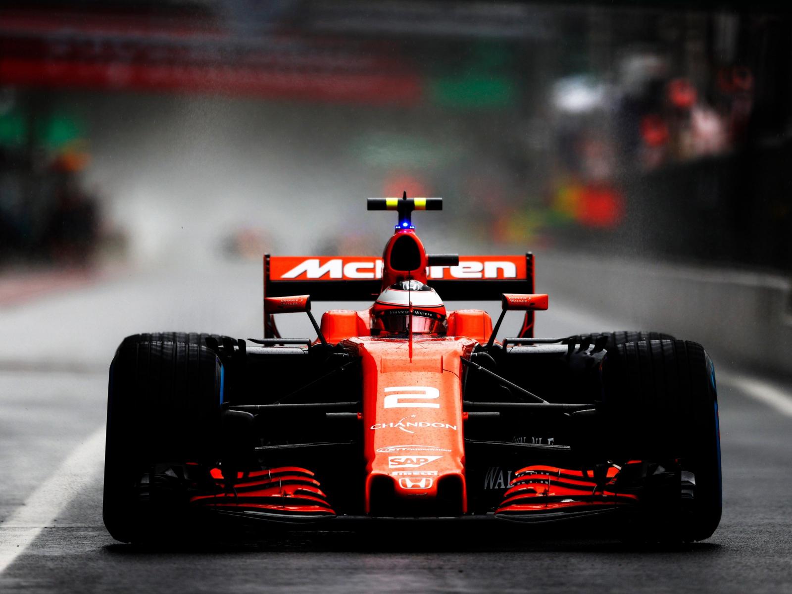 Download 1600x1200 Wallpaper Mclaren, Formula One, Car ...