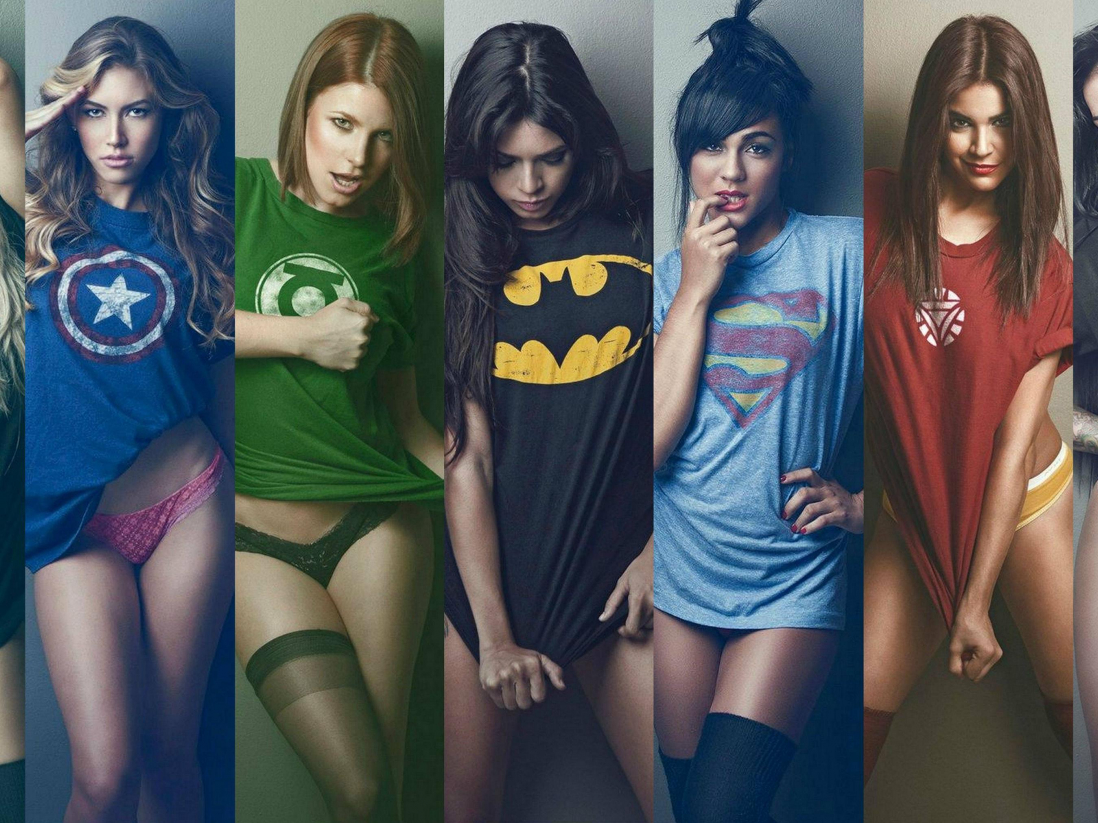 сексуальные девушки герои - 12