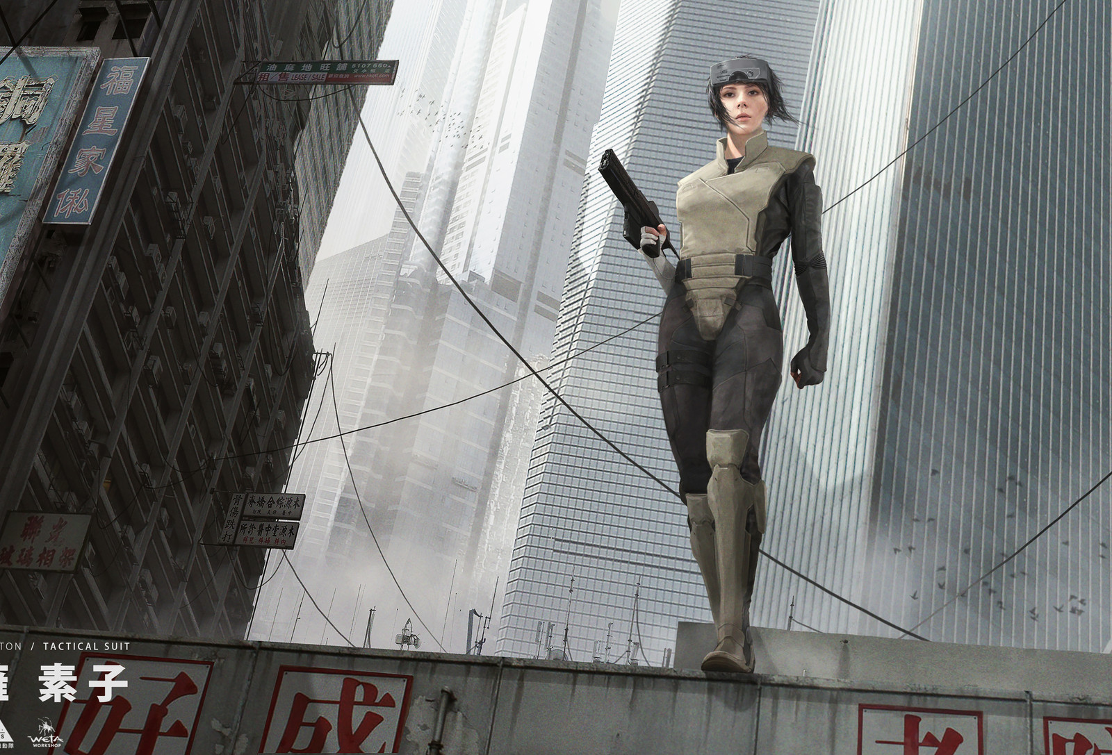 Desktop Wallpaper Ghost In The Shell Movie Art Hd Image Picture Background Knomek