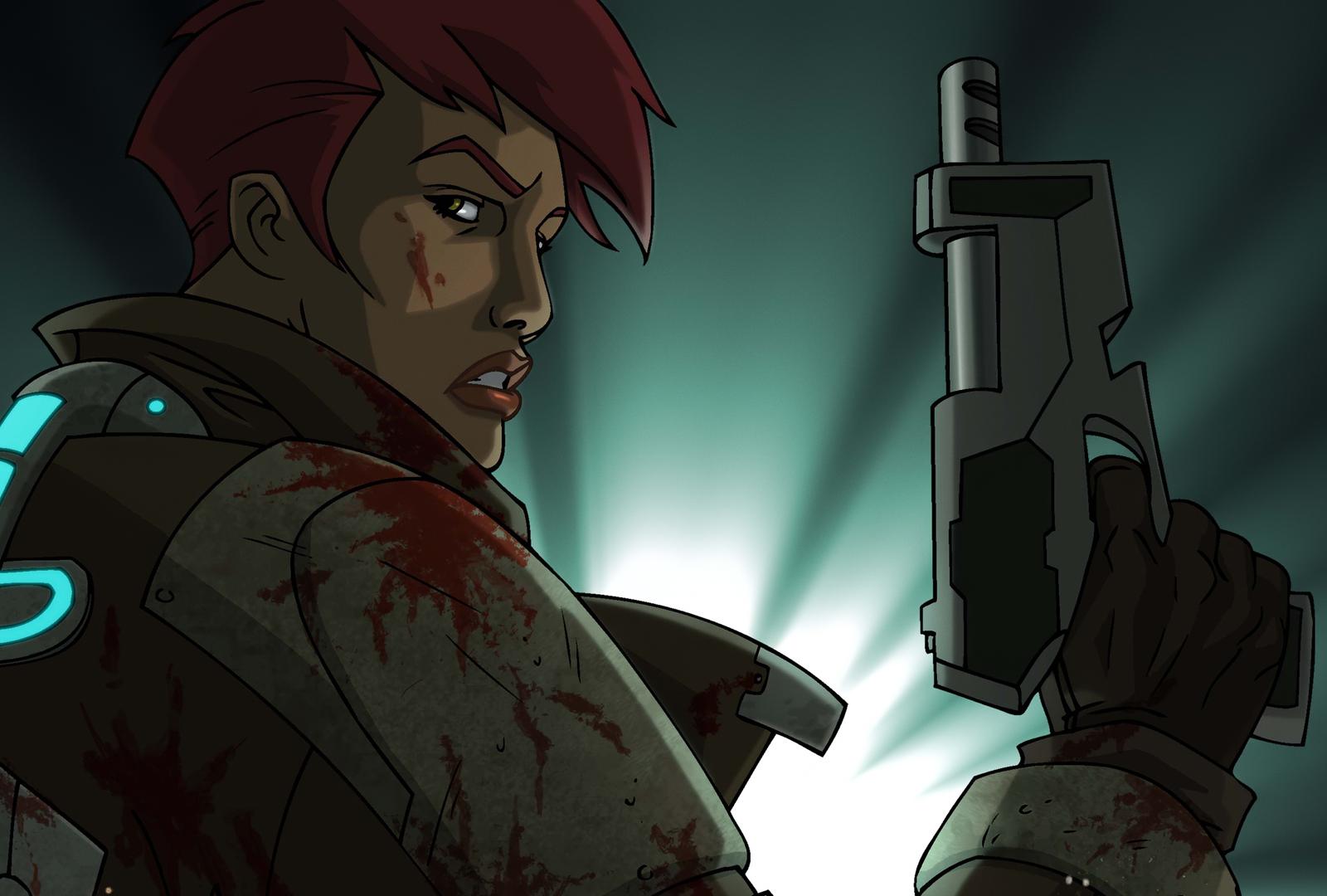 Desktop Wallpaper Dead Space Downfall 2008 Animation Movie Hd