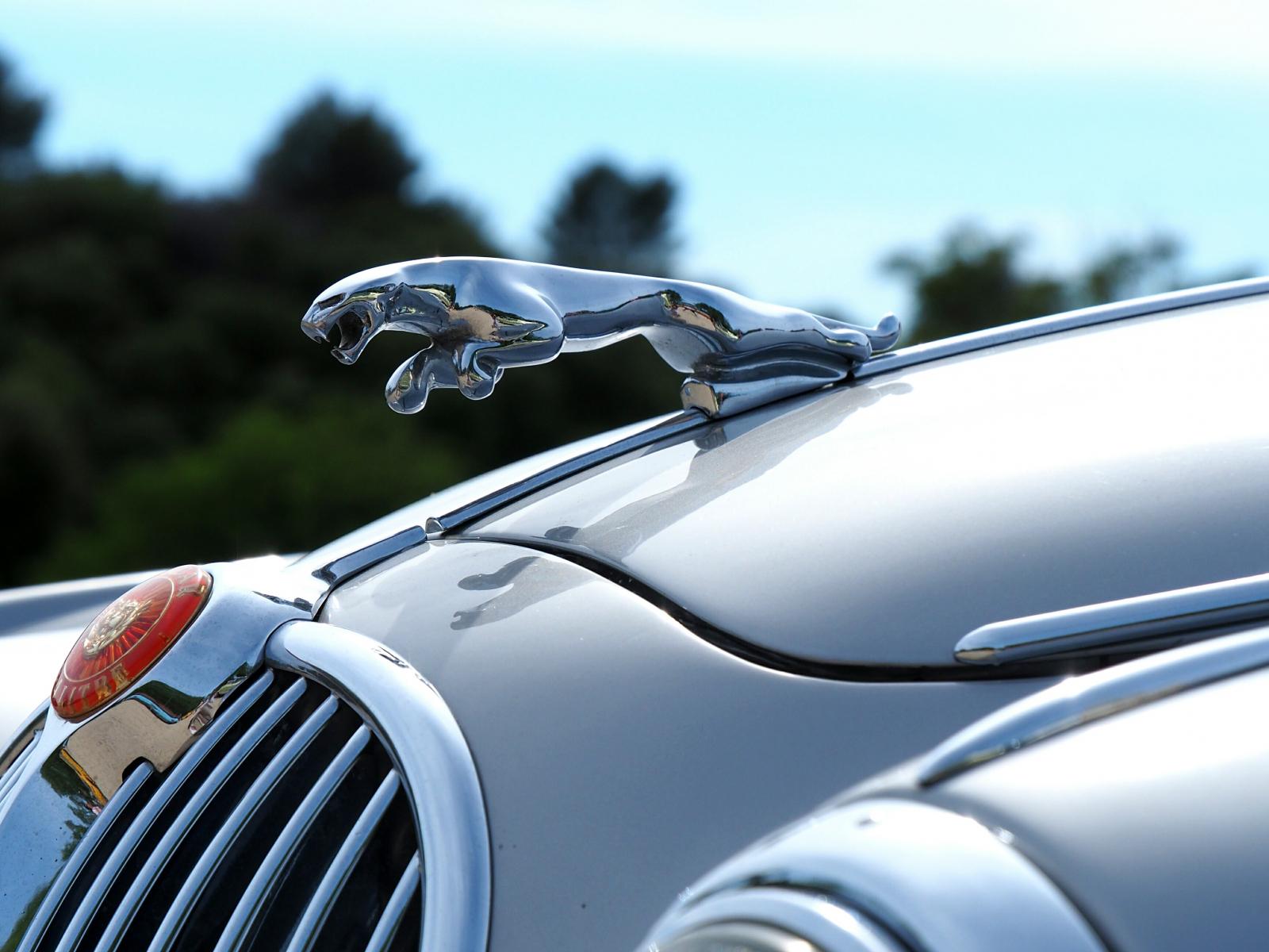 Download 1600x1200 Wallpaper Jaguar Car Logo Car Standard 4 3