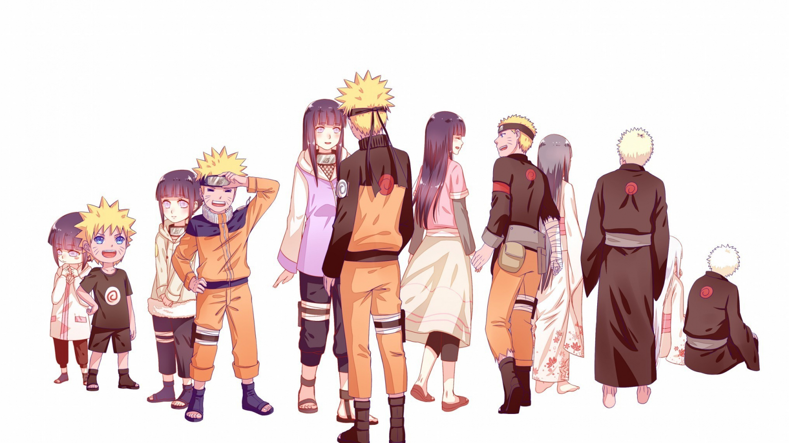 Desktop Wallpaper Naruto Shippuden Anime Characters Hd Image Picture Background 58f6d3