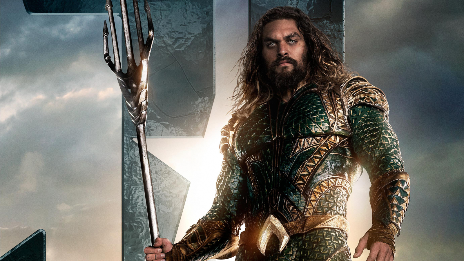 Download 1600x900 Wallpaper Jason Momoa As Aquaman In Justice League Movie Widescreen 16 9 Widescreen 1600x900 Hd Image Background 13225