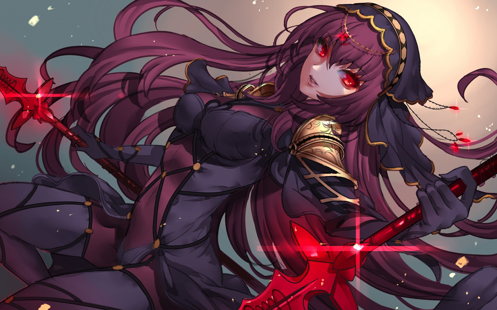 Desktop Wallpaper Scathach Fate Grand Order Anime Girl Hd Image Picture Background 2ea812