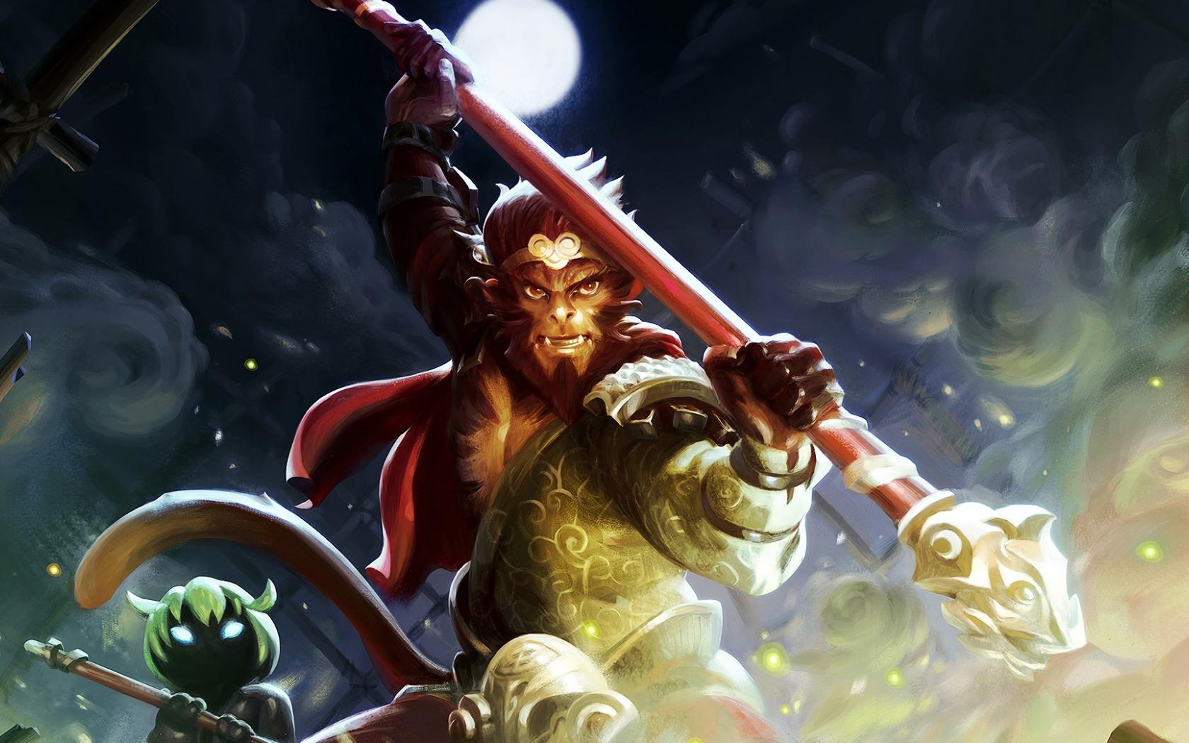 Desktop Wallpaper Monkey King Defense Of The Ancients 2 Dota 2