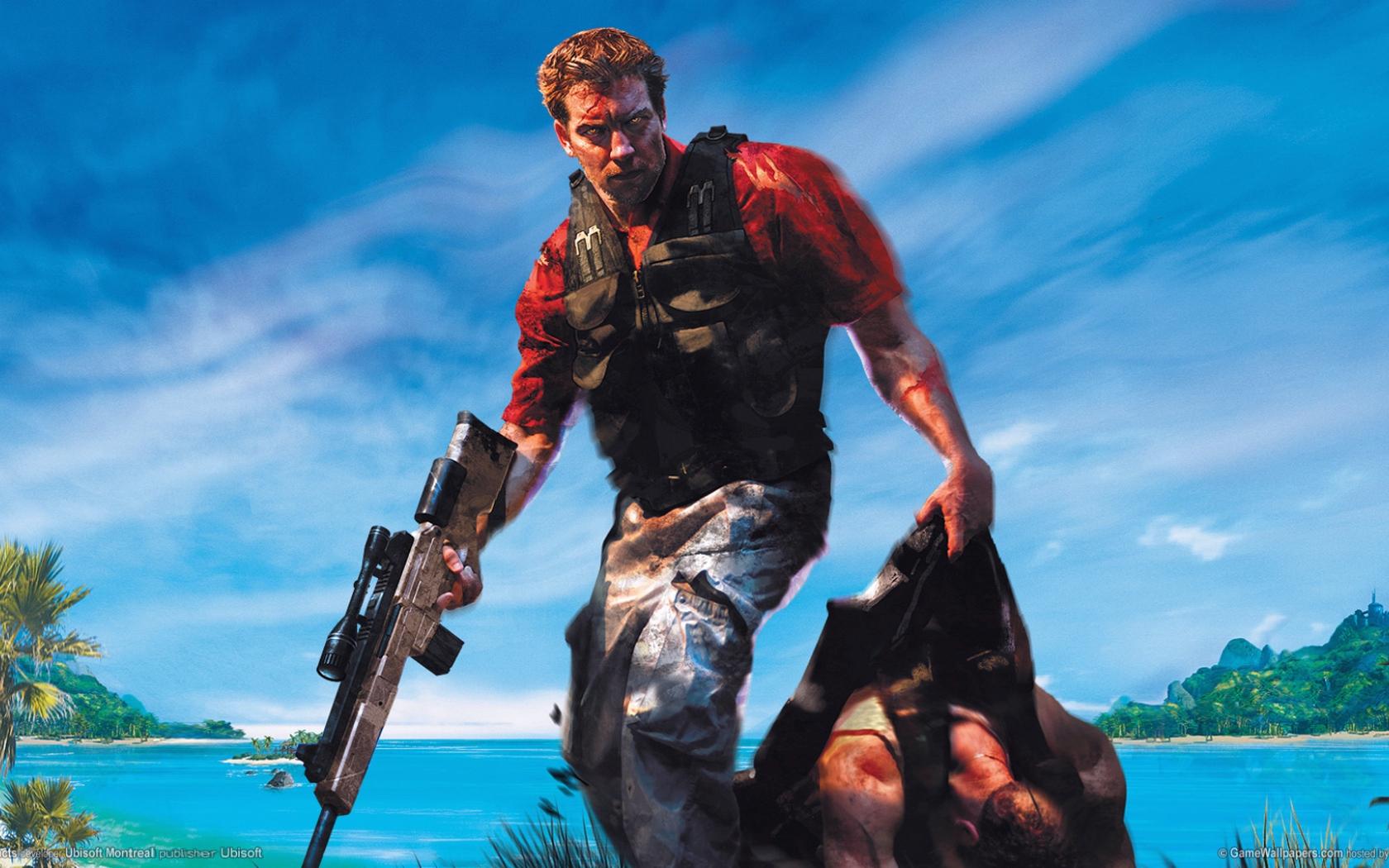 Desktop Wallpaper Far Cry Instincts Video Game 2005 Game Hd