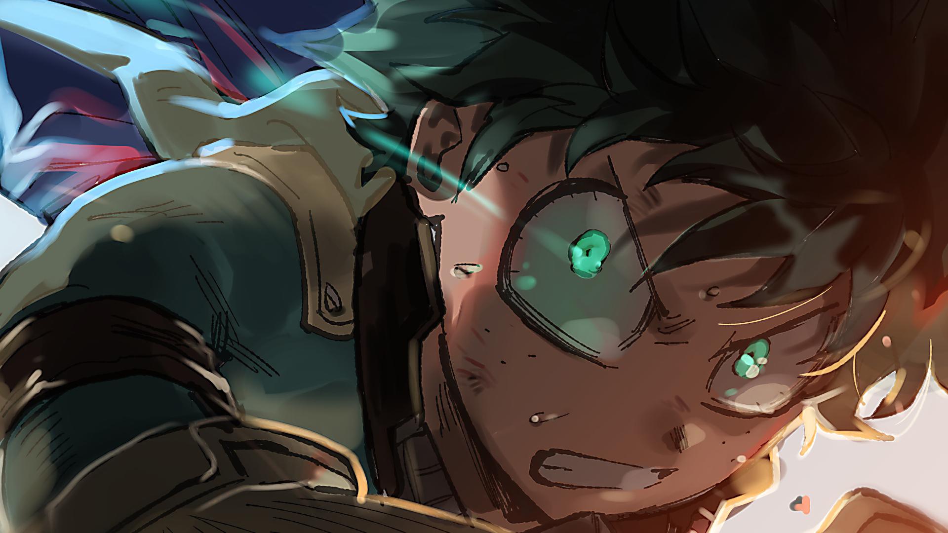 Download 1920x1080 Wallpaper Izuku Midoriya, Anime Boy, My ...