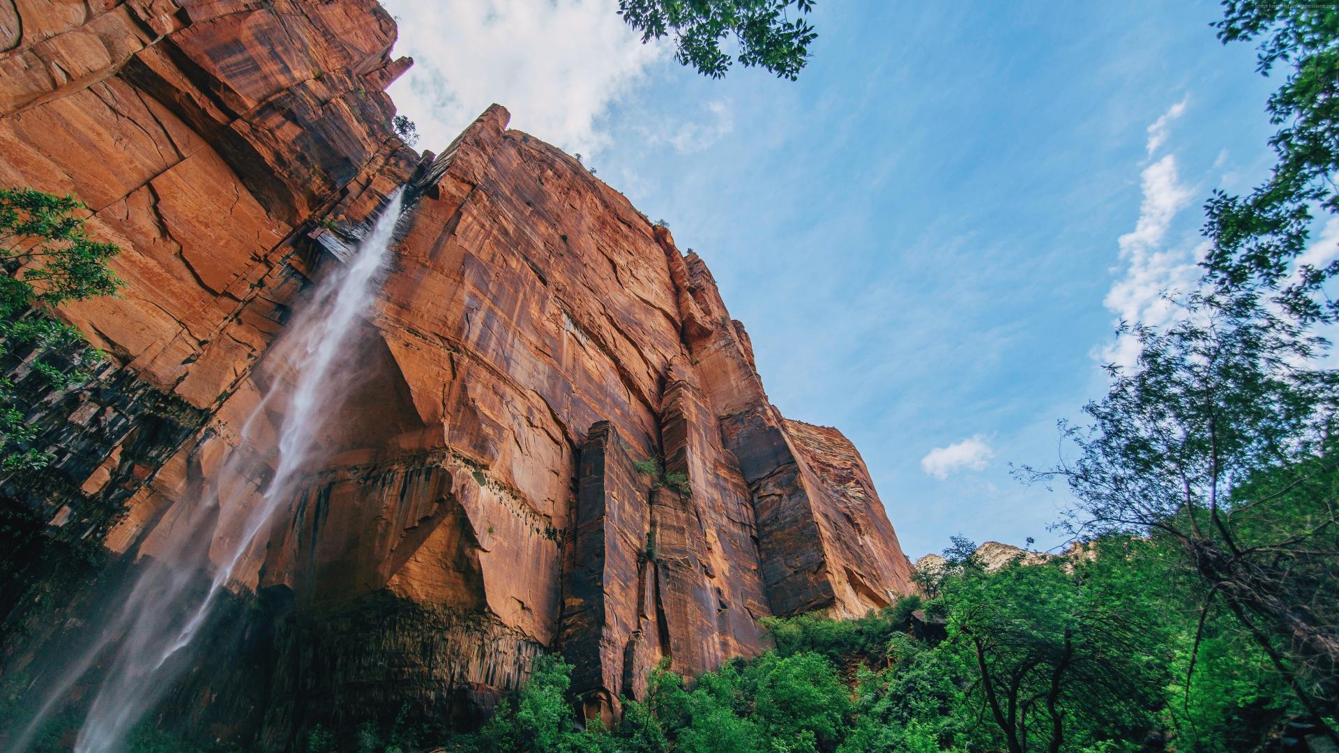 Download 1920x1080 Wallpaper Yosemite Falls Waterfall