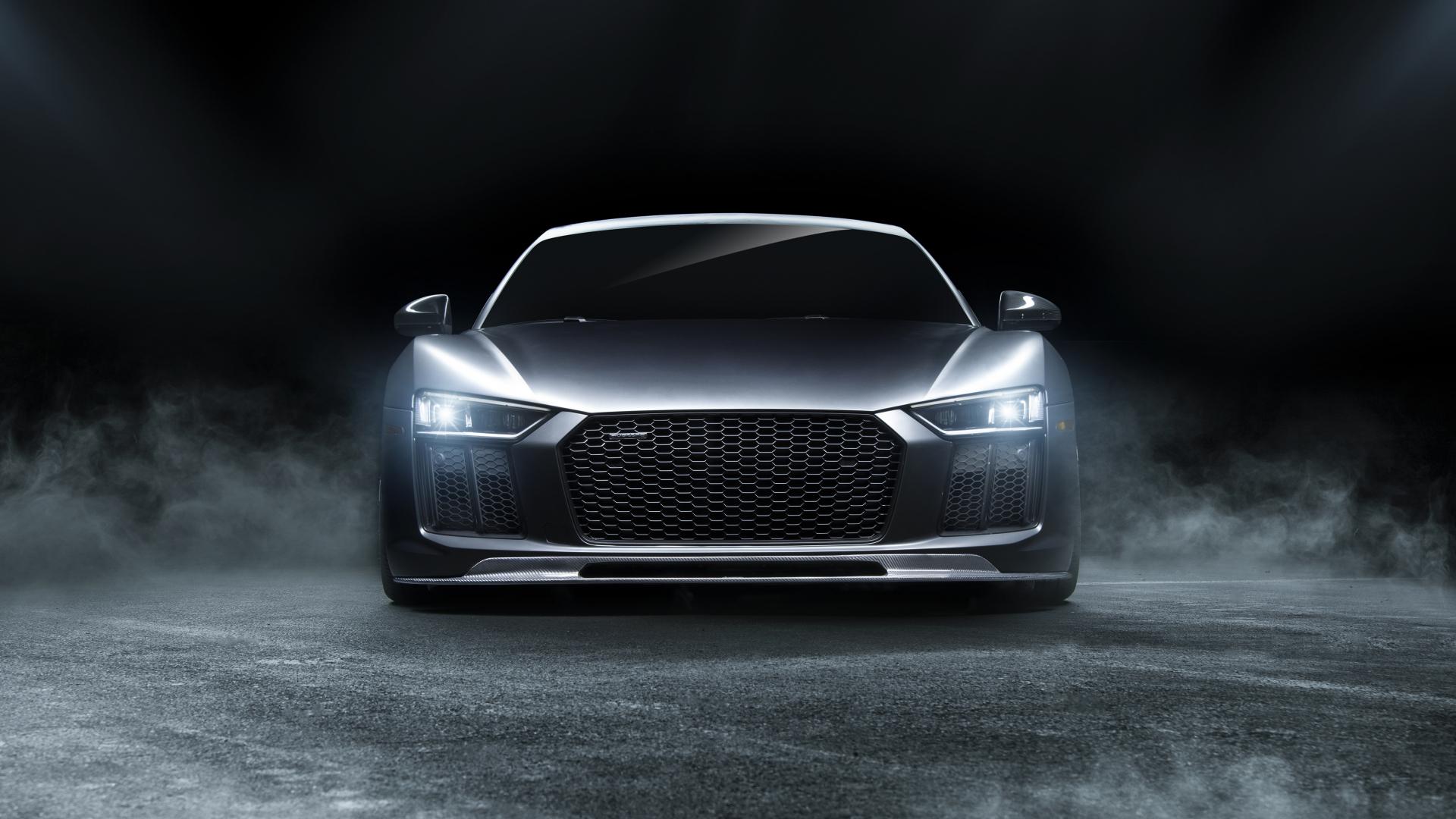 Download 1920x1080 Wallpaper Audi R8, Sports Car, Front ...