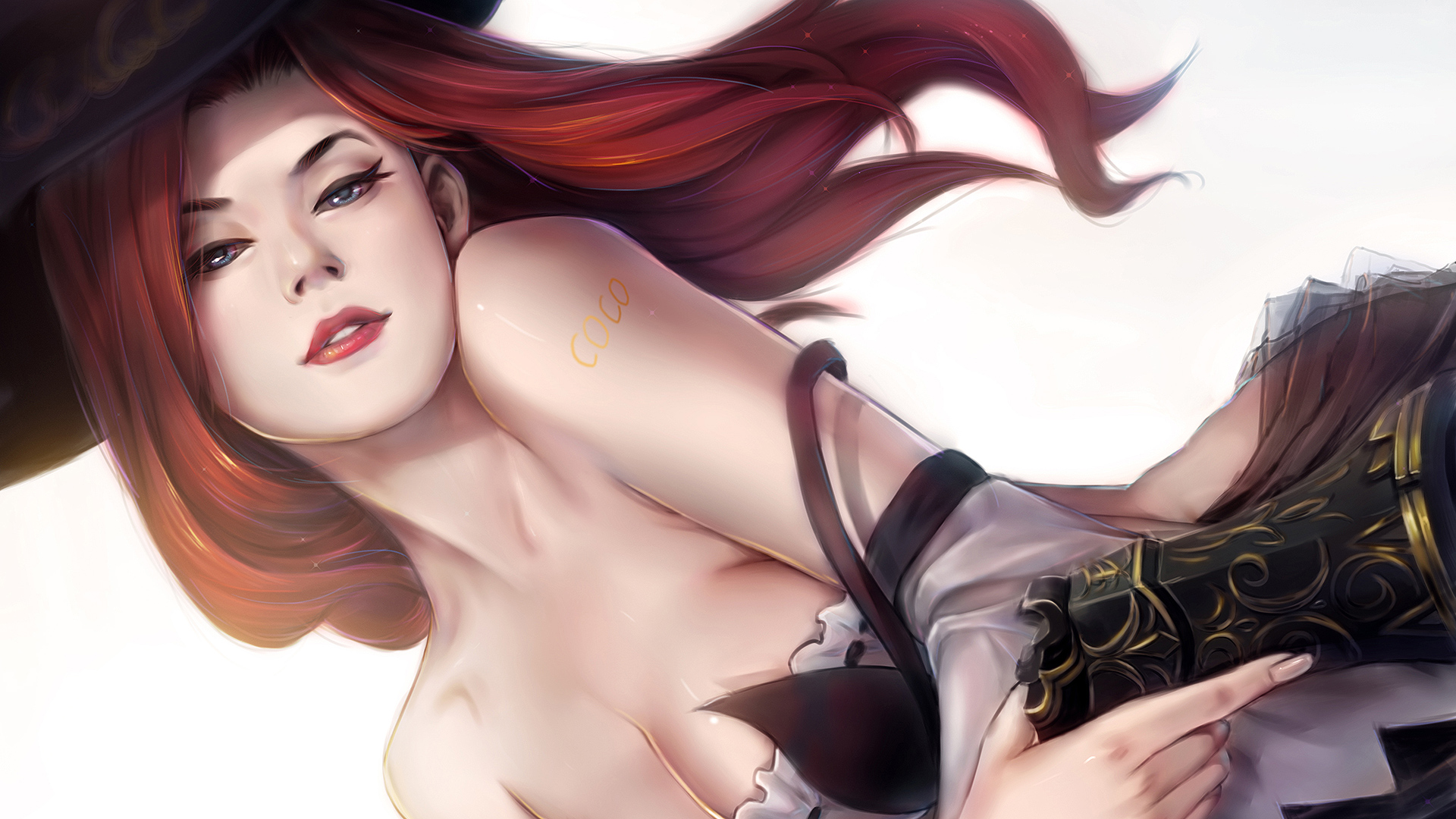 Download 1920x1080 Wallpaper Miss Fortune A Sexy Girl Of League Of