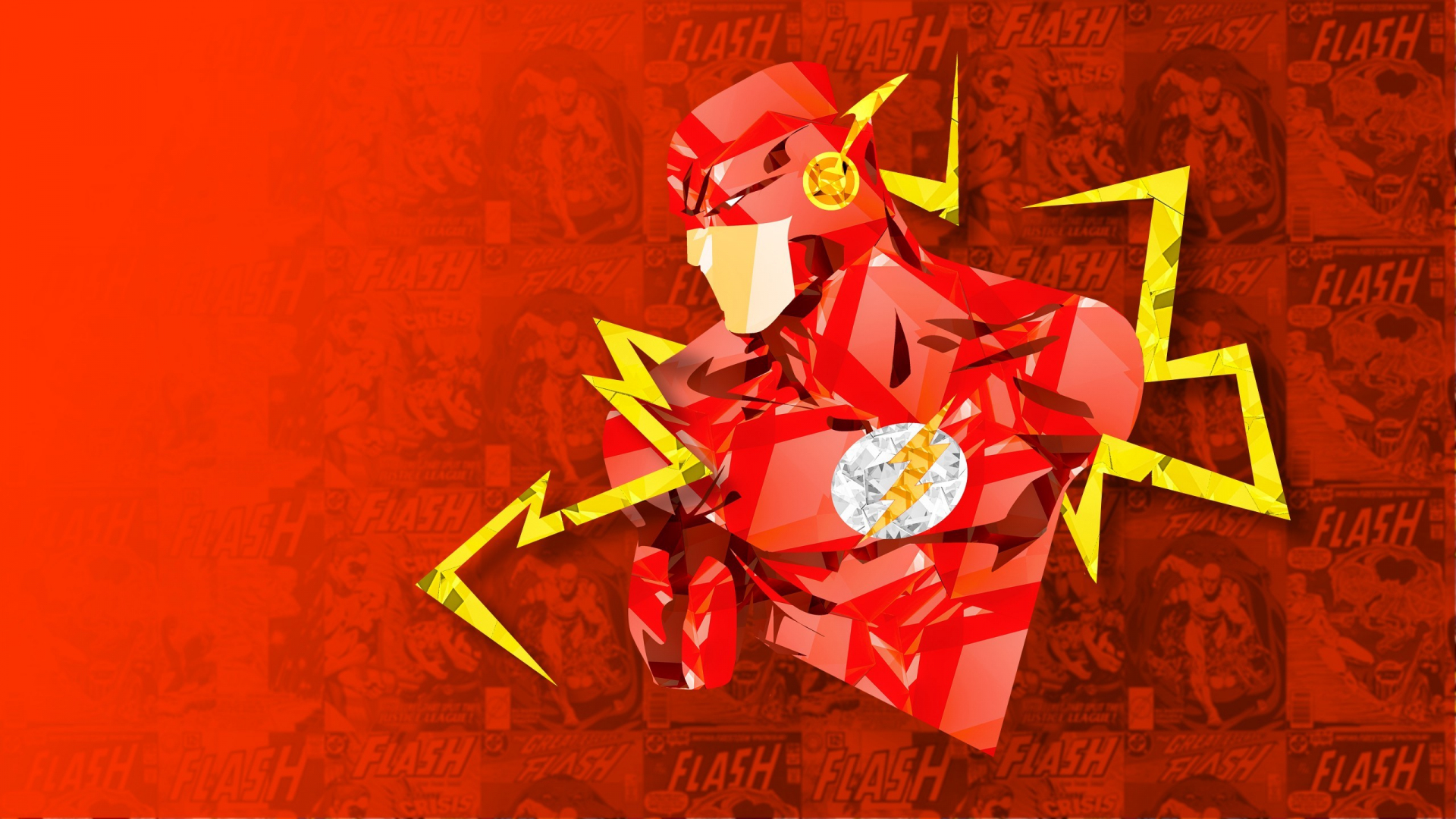 Download 1920x1080 Wallpaper Flash, Superhero From Dc ...