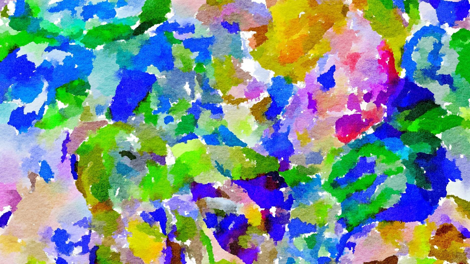 Download 1920x1080 Wallpaper Art Pattern Colorful