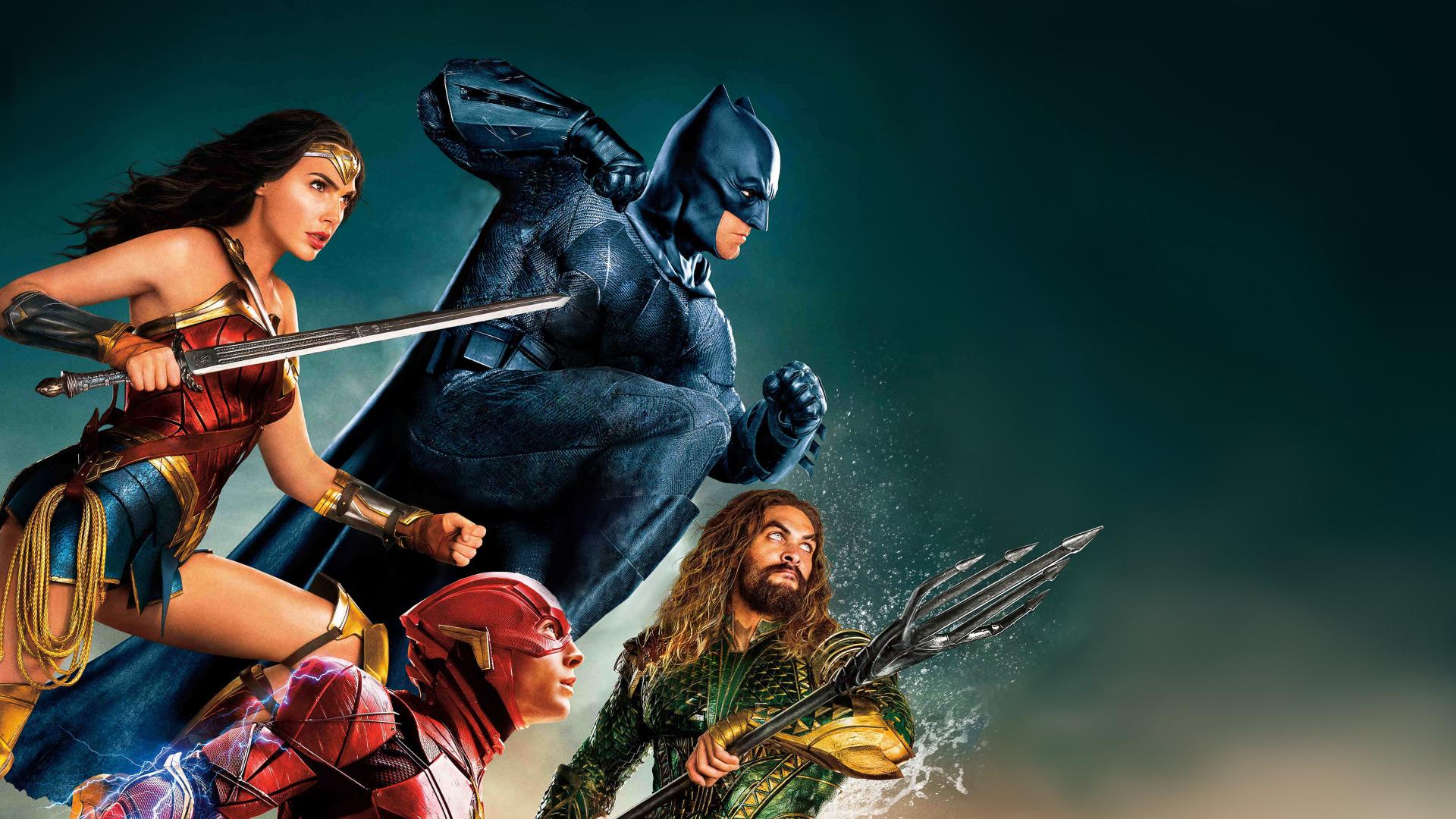 Download 1920x1080 Wallpaper Justice League Batman Wonder Woman