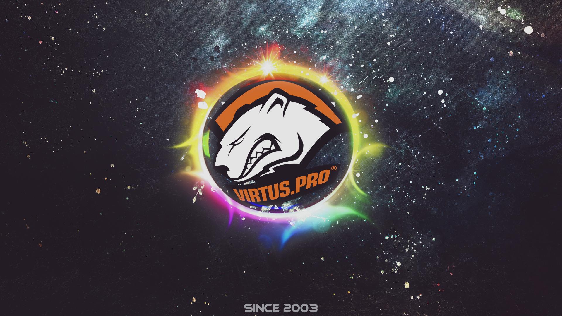 Download 1920x1080 Wallpaper Virtus Pro Logo Gaming Full Hd Hdtv
