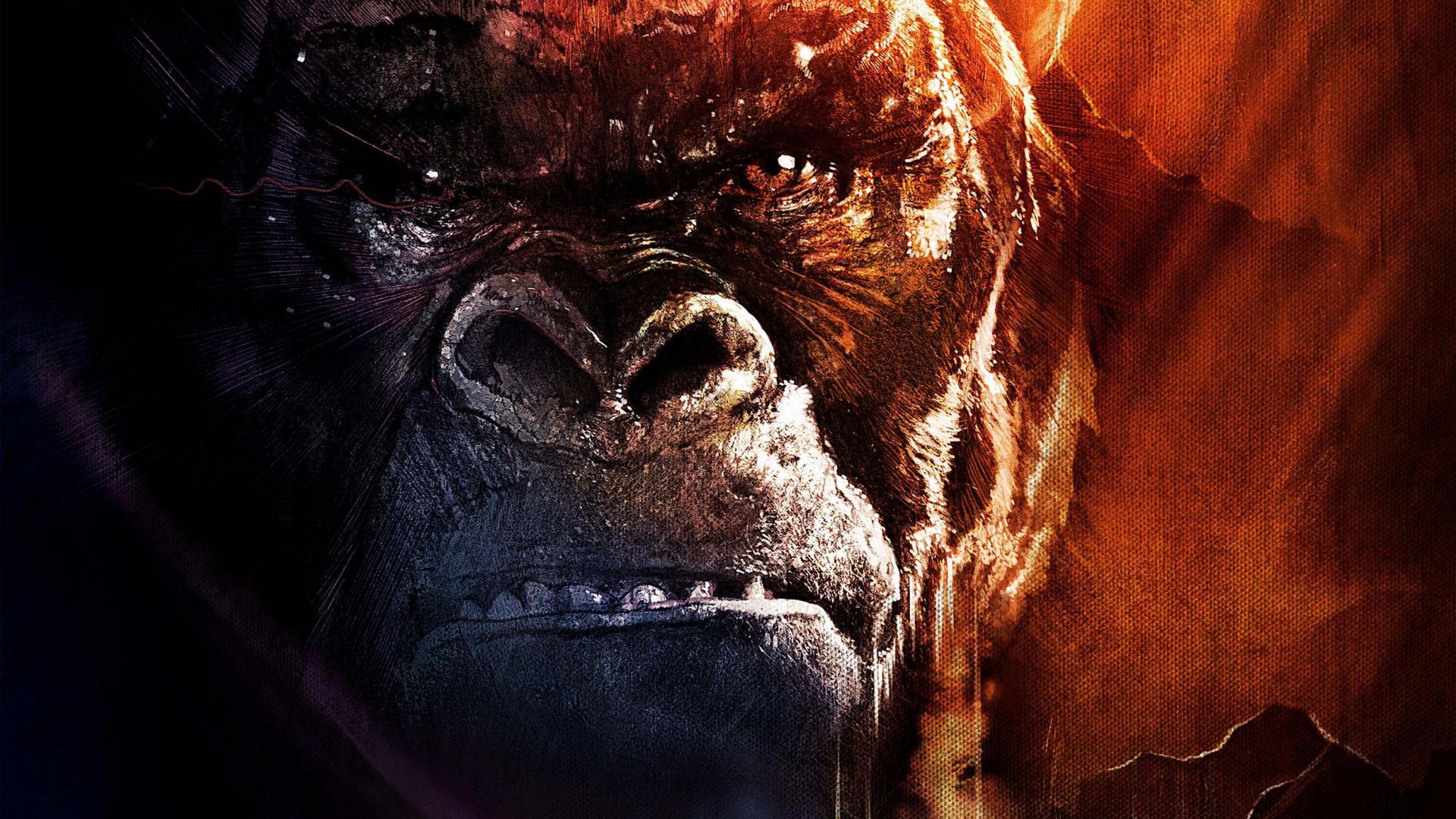 Download 1920x1080 Wallpaper 2017 Movie Kong Skull Island