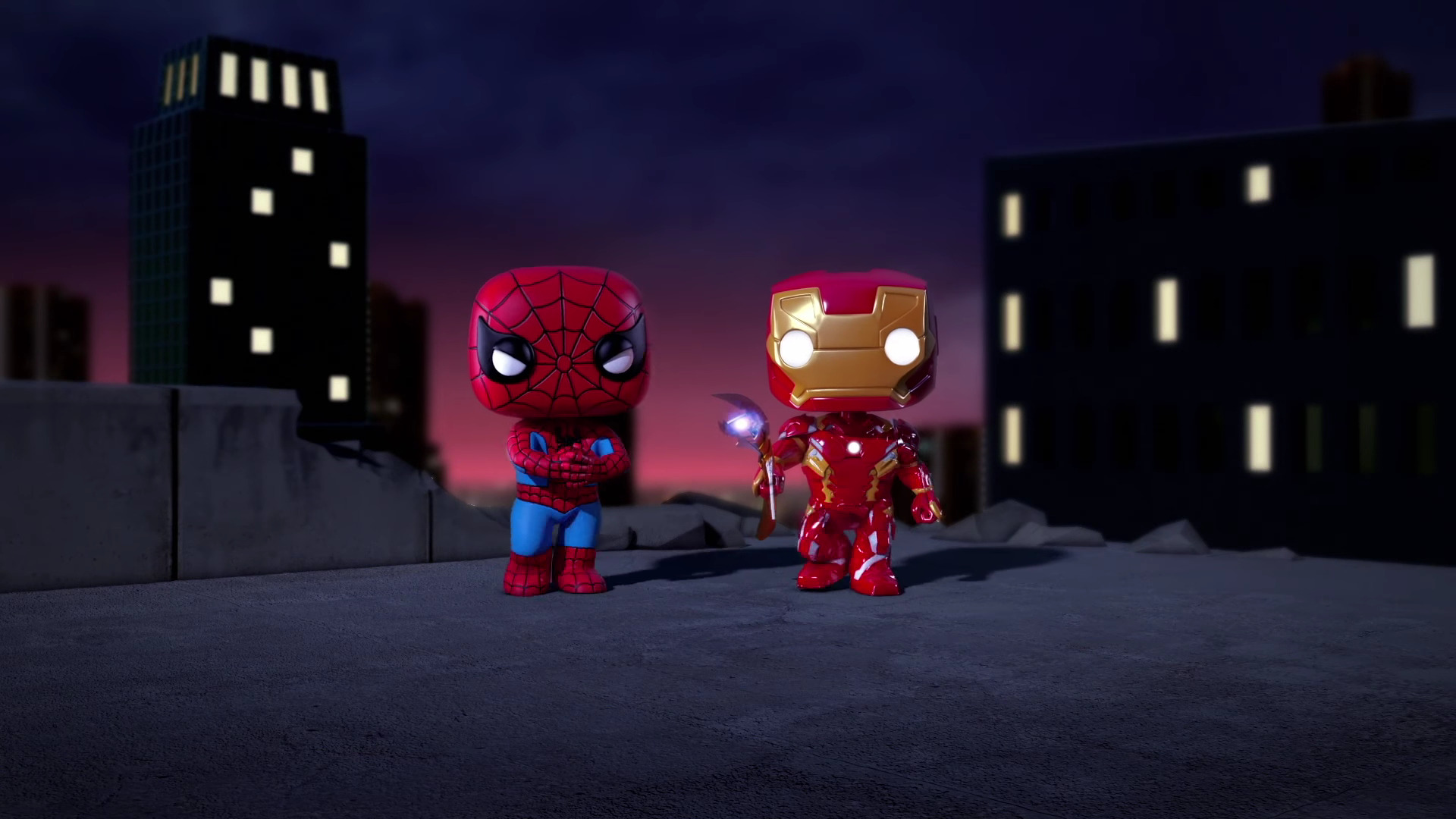 download 1920x1080 wallpaper iron man and spiderman spellbound